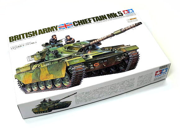 Tamiya Military Model 1/35 British Army CHIETAIN Mk.5 Main Battle Tank 35068