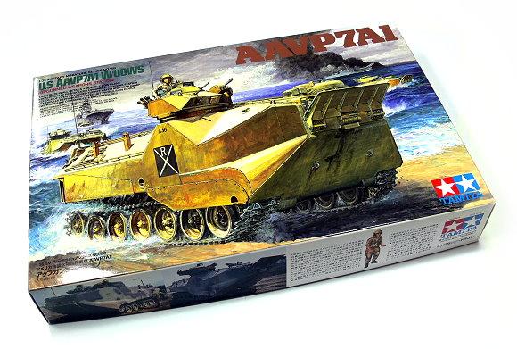 Tamiya Military Model 1/35 US AAVP7A1 w/UGWS (Upgunned Weapons Station) 35159