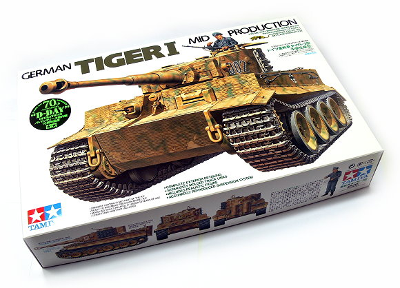 Tamiya Military Model 1/35 German TIGER I Mod Production Scale Hobby 35194