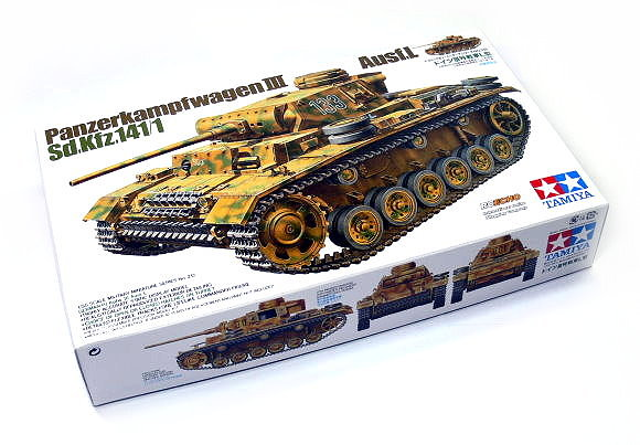 Tamiya Military Model 1/35 Panzerkampfwagen III Ausf.L Sd.fz.141/1 Hobby 35215