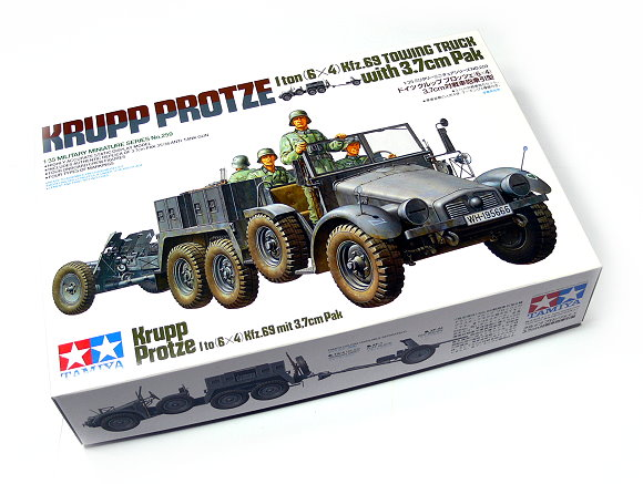 Tamiya Military Model 1/35 KRUPP PROTZE Towing Truck w/3.7cm Pak Hobby 35259