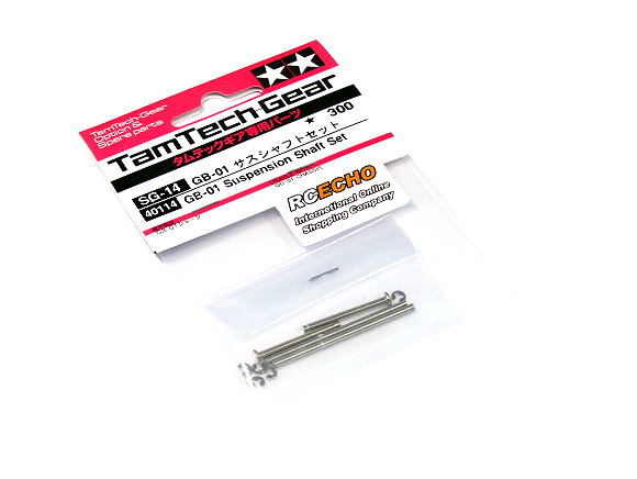Tamiya TamTech-Gear GB-01 Suspension Shaft Set SG-14 40114