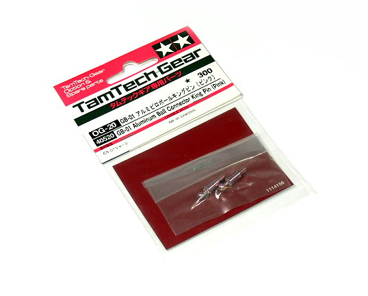 Tamiya RC Model TamTech-Gear GB-01 Aluminum Ball Connector King Pin (Pink) 40520