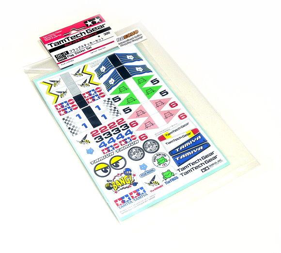 Tamiya RC Model Tamtech Flag Sticker Set 40521