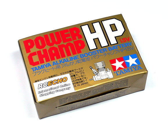 Tamiya Glow Engine Parts & Accessories Alkaline Booster Battery Champ 1.5V 41004