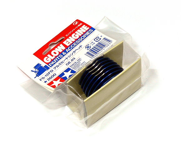 Tamiya Glow Engine Parts & Accessories FS-15FD Aluminum Heat Sink Head 41083