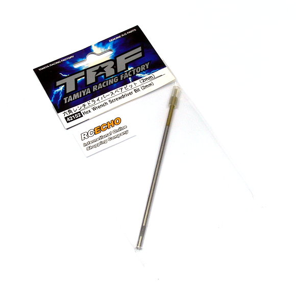 Tamiya Model Craft Tools TRF Hex Wrench Screwdriver Bit (2mm) 42152