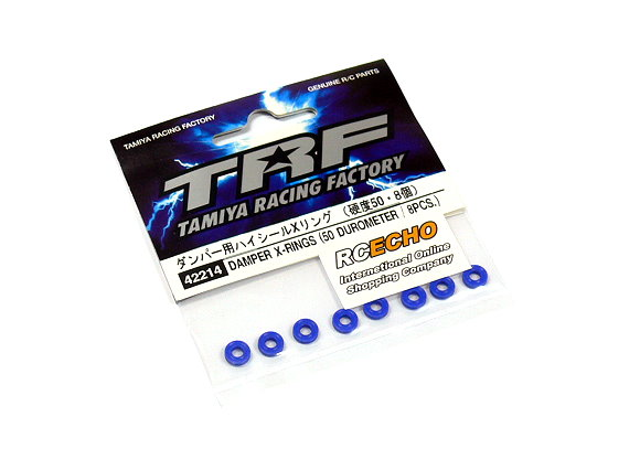 Tamiya Racing Factory TRF DAMPER X-Rings (50 Durometer / 8pcs.) 42214