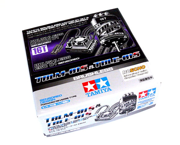 Tamiya RC Model Brushless Motor 01 16T & Brushless ESC 01 Set (Sensored) 45049