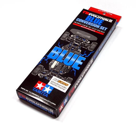 Tamiya Hop-Up Options TB EVOLUTION III Blue Conversion Set 49335