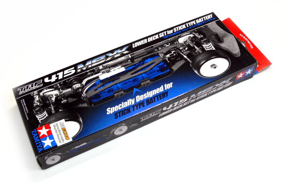 Tamiya Hop-Up Options TRF415 MSXX Lower Deck Set for Stick Type Battery 49436