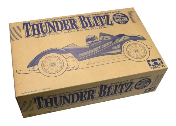 Tamiya EP RC Car Body 1/10 Thunder Blitz Body Parts Set 50779