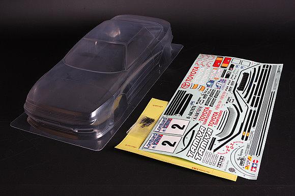 Tamiya RC Car Body 1/10 Scale Toyoto Celica GT-Four 1990 Body Parts Set 51476