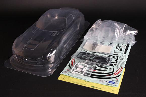 Tamiya RC Car Body 1/10 Scale R/C Mercedes-Benz SLS AMG GT3 Body Parts Set 51534