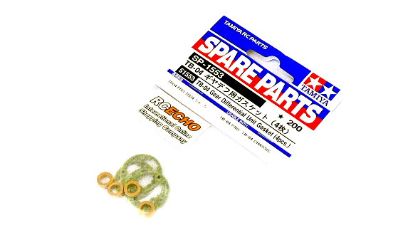 Tamiya Spare Parts TB-04 Gear Differential Unit Gasket (4pcs) SP-1553 51553