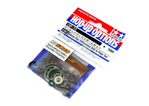 Tamiya Hop-Up Options Manta Ray Differential Ball & Plate Set OP-72 53072