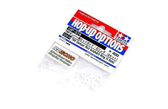 Tamiya Hop-Up Options TRF Damper Rod Guide & O-Ring (4 Sets) OP-574 53574