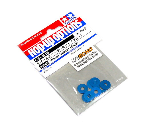 Tamiya Hop-Up Options Wheel Spacer (Blue) OP-646 53646