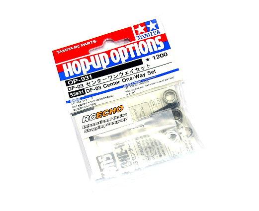 Tamiya Hop-Up Options DF-03 Center One-Way Set OP-931 53931