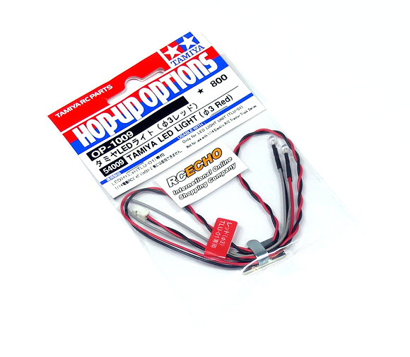 Tamiya RC Model LED Light (Diameter 3mm, Red) 54009