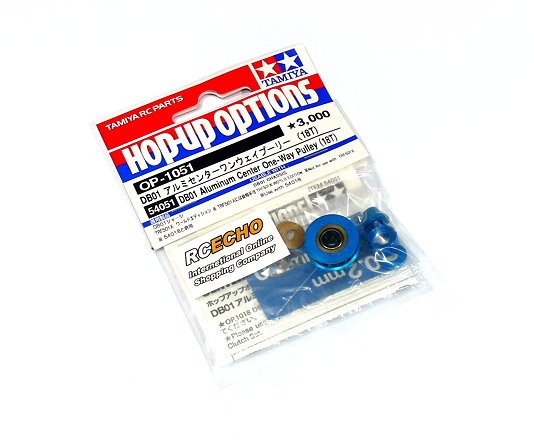 Tamiya Hop-Up Options DB01 Aluminum Center One-Way Pulley (18T) OP-1051 54051