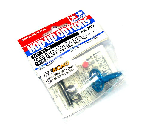 Tamiya Hop-Up Options TB-03 Center One-Way Set OP-1126 54126