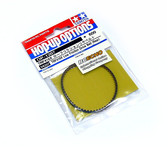 Tamiya Hop-Up Options TRF416X Low Friction Drive Belt (Rear) OP-1207 54207