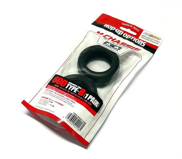 Tamiya RC Model 60D Reinforced Tires TYPE-B (1 Pair) 54216