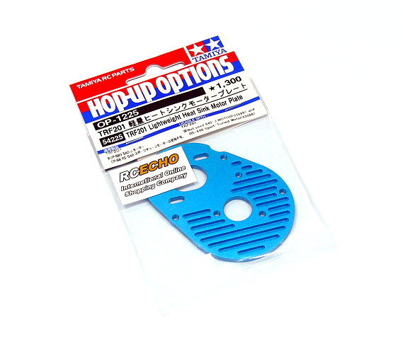 Tamiya Hop-Up Options TRF201 Lightweight Heat Sink Motor Plate OP-1225 54225