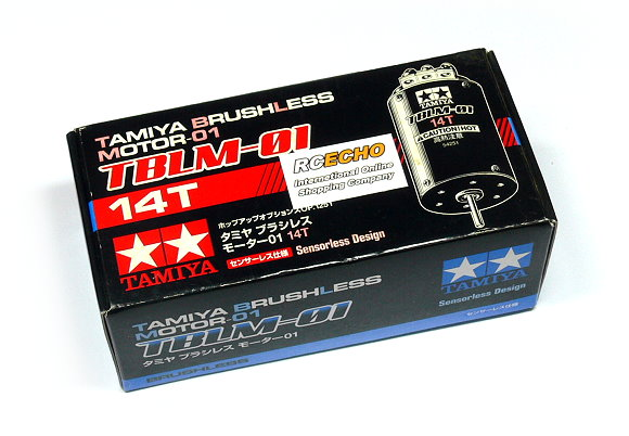 Tamiya RC Model TBLM-01 Motor 14T R/C Sensorless Brushless Motor 01 54251