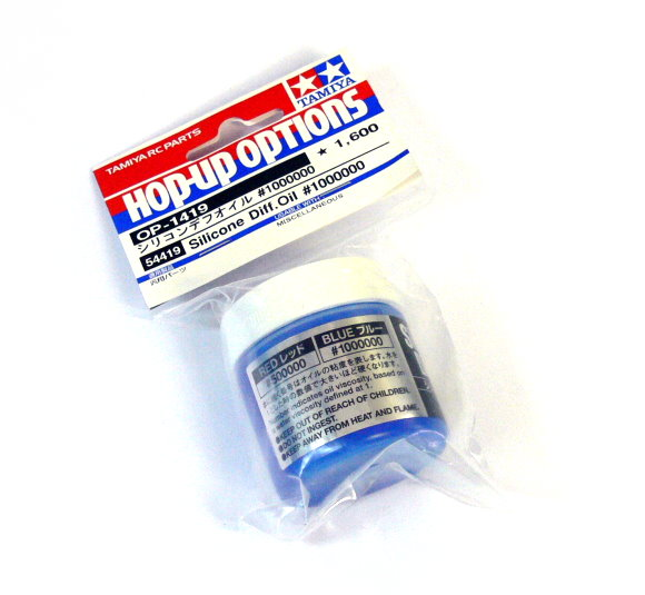 Tamiya Hop-Up Options Silicone Diff. Oil #1000000 OP-1419 54419