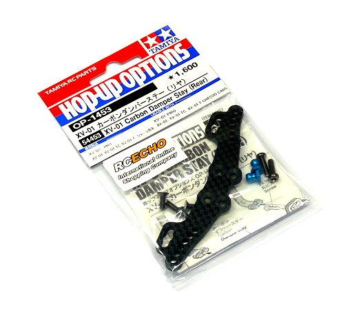 Tamiya Hop-Up Options XV-01 Carbon Damper Stay (Rear) OP-1453 54453