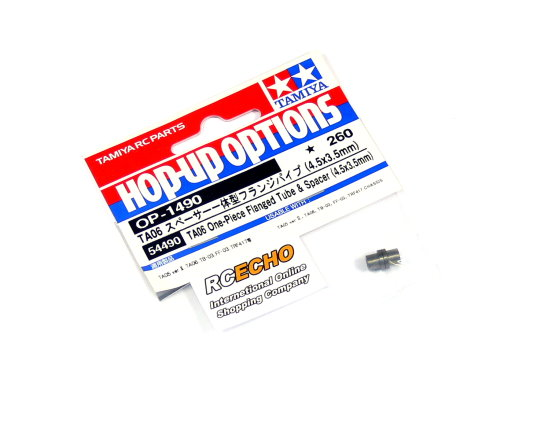 Tamiya Hop-Up Options TA06 One-Piece Flanged Tube & Spacer OP-1490 54490