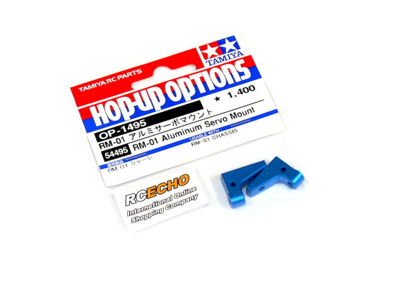 Tamiya Hop-Up Options RM-01 Aluminum Servo Mount OP-1495 54495