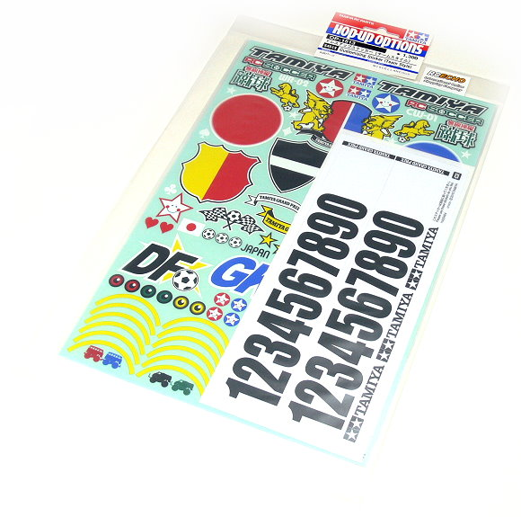 Tamiya RC Model Hop-Up Customizing Sticker (Team Style) 54513