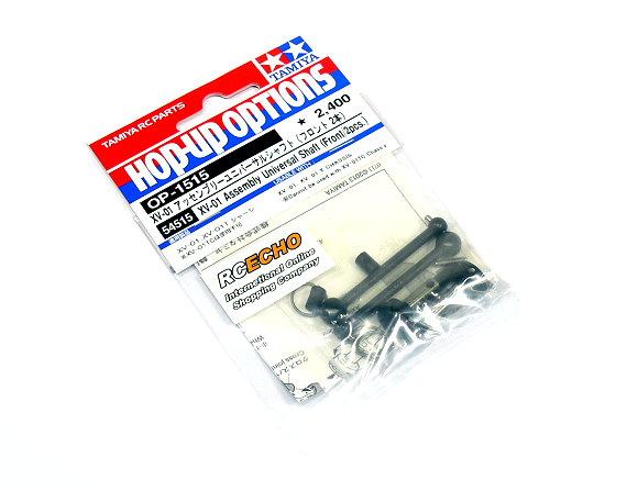 Tamiya Hop-Up Options XV-01 Assembly Universal Shaft (Front/2pcs) OP-1515 54515