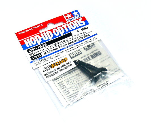 Tamiya Hop-Up Options M-Chassis Wheels Axle w/Axle Ring OP-1623 54623