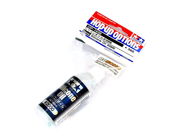 Tamiya Hop-Up Options Silicone Oil #2000 OP-1656 54656