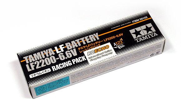 Tamiya RC Model LF2200-6.6V Racing Pack R/C Hobby LF Battery 55102