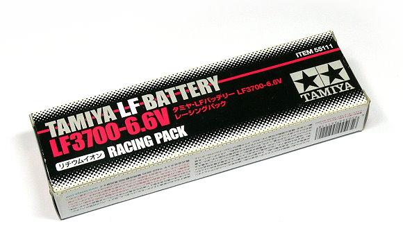 Tamiya RC Model LF2700-6.6V Racing Pack (Separate Type) LF Battery 55111