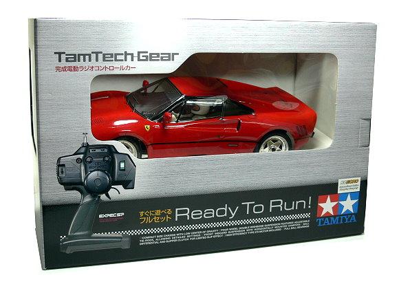 Tamiya EP RC Car 1/12 TamTech Gear FERRARI GTO (RTR) 56710