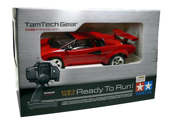 Tamiya EP RC Car 1/12 TamTech Gear LAMBORGHINI COUNTACH LP500S (RTR) 56712