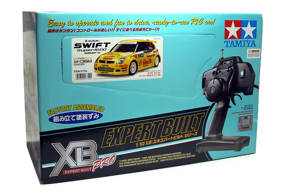Tamiya EP RC Car 1/10 XB SUZUKI SWIFT Super1600 Germany 05 M03M (RTR) 57754