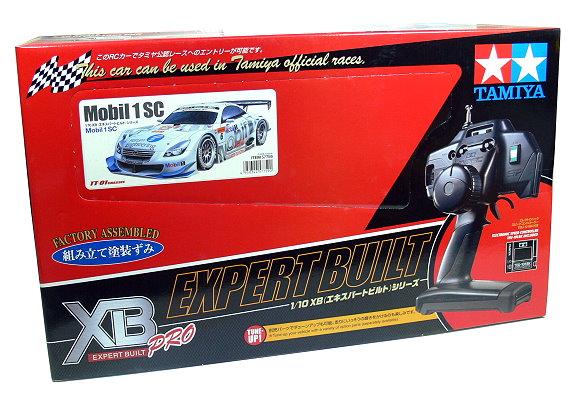 Tamiya EP RC Car 1/10 XB Expert Bull Pro Mobil 1 SC TT01 Chassis (RTR) 57759