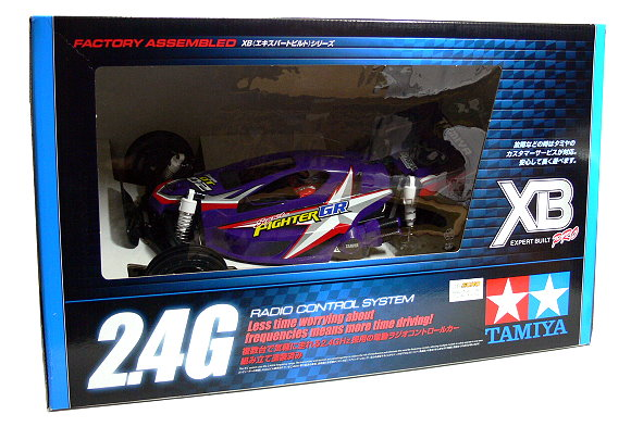Tamiya EP RC Car 1/10 XB SUPER FIGHTER GR VIOLET 2WD OFF Road RACER (RTR) 57854