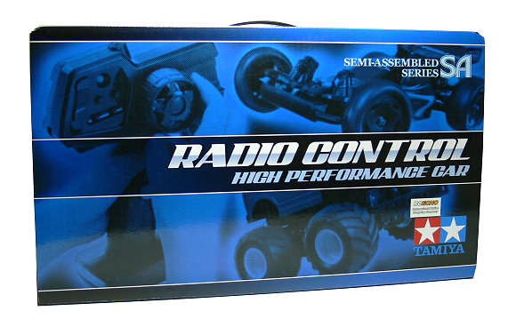 Tamiya EP RC Car 1/10 SA WR-02 Chassis Set Factory Fin. & 2ch Transmitter 57985