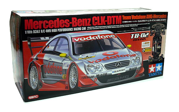 Tamiya EP RC Car 1/10 Mercedes-Benz CLK-DTM Team Vodafone AMG-Mercedes 4WD 58310