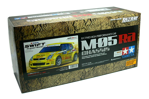 Tamiya EP RC Car 1/10 SUZUKI SWIFT Super1600 M05 Ra Chassis Car with ESC 58364