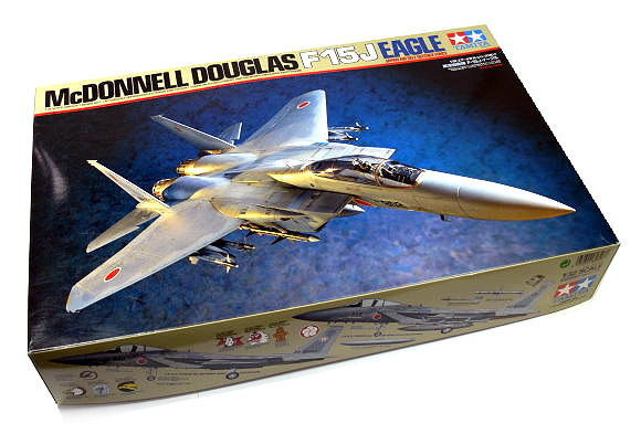 Tamiya Aircraft Model 1/32 Airplane McDONNELL F-15J Eagle Scale Hobby 60307