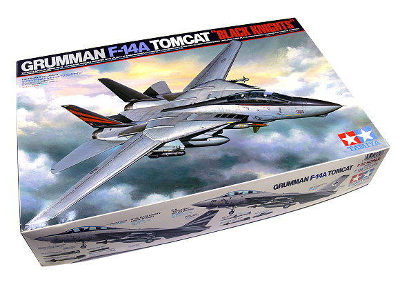 Tamiya Aircraft Model 1/32 Airplane Grumman F-14A Tomcat BLACK KNIGHTS 60313
